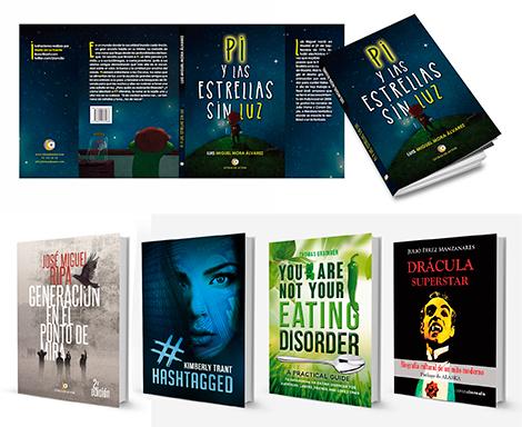 Diseño de portada de libros, cubiertas